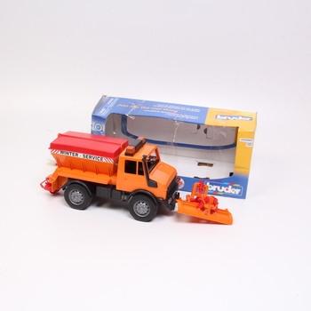 Sněžný pluh Bruder oranžový 02572