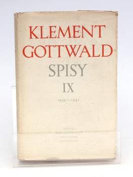 Kniha Klement Gottwald: Spisy lX