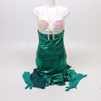 Šaty mořské panny s doplňky Mermaid 997737