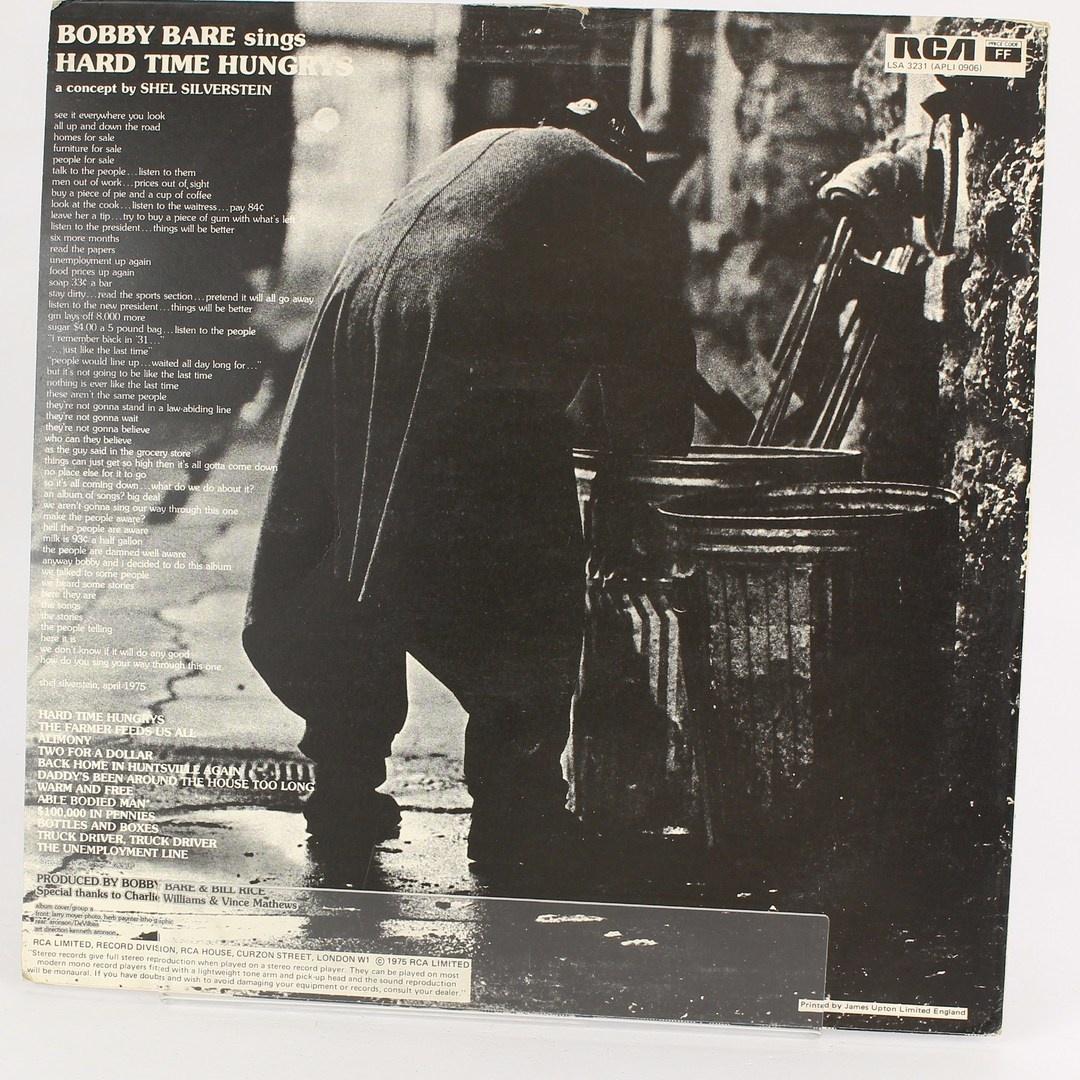 Gramofonová deska Bobby Bare- Hard time...