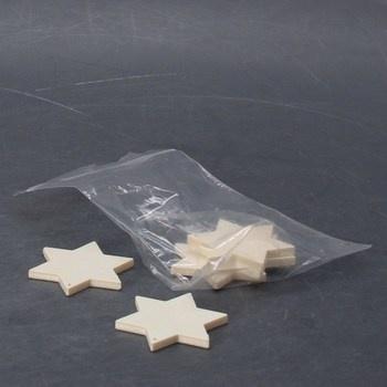 Dřevěné hvězdy Glorex 6 1680 014