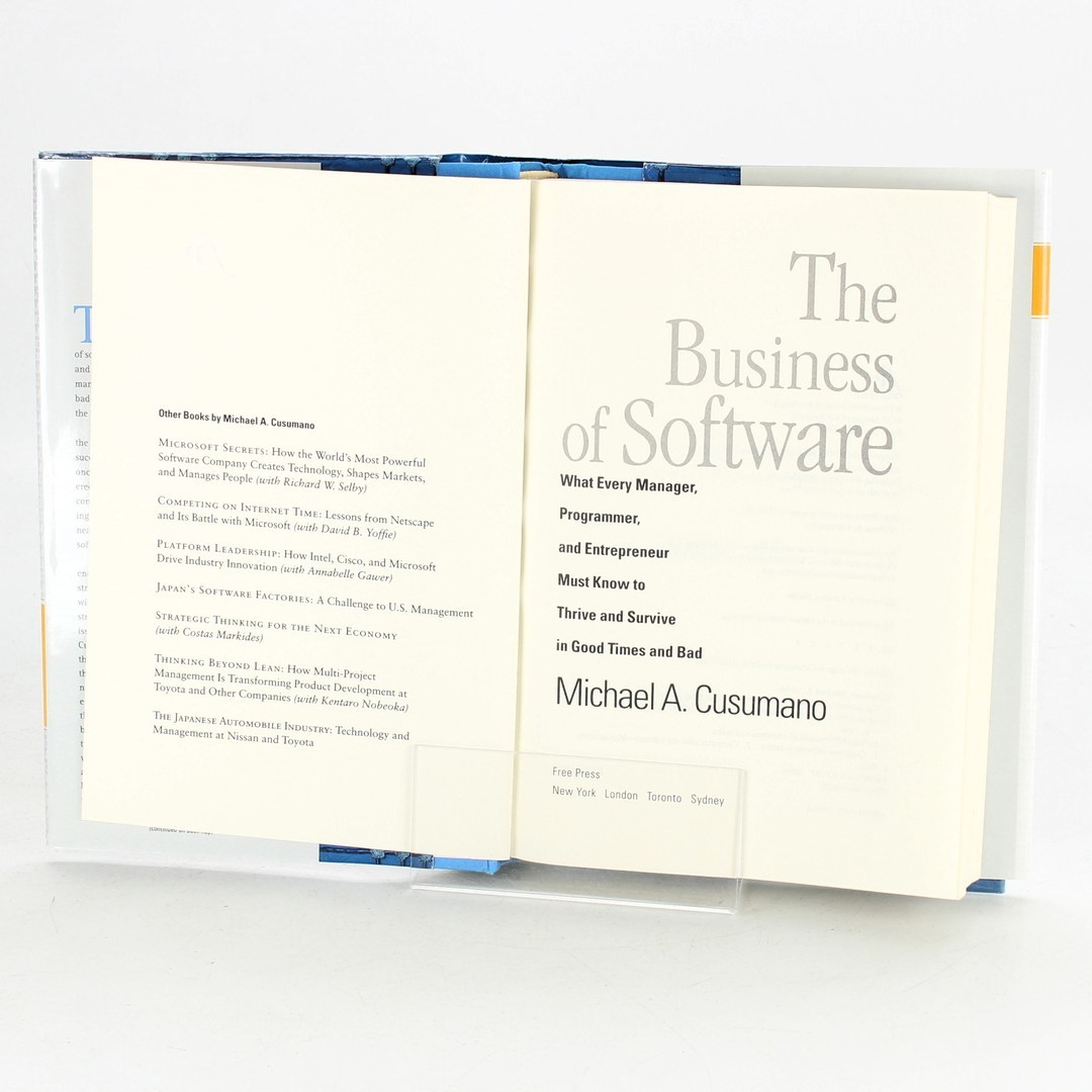 Michael A. Cusumano: The business of SW