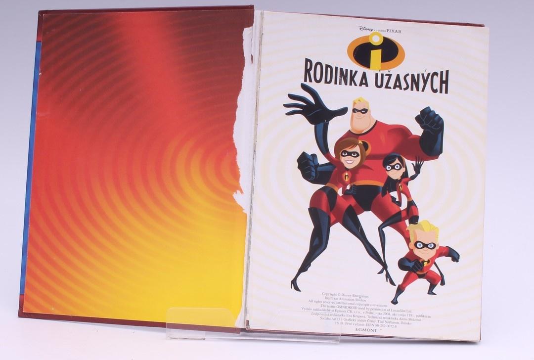 Dětská knížka: Rodinka Úžasných