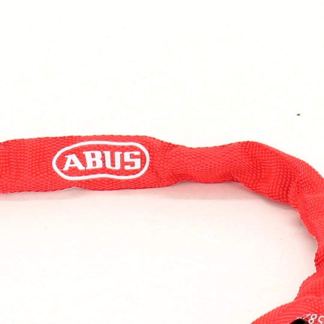 Zámek na kolo Abus délka 50 cm červený
