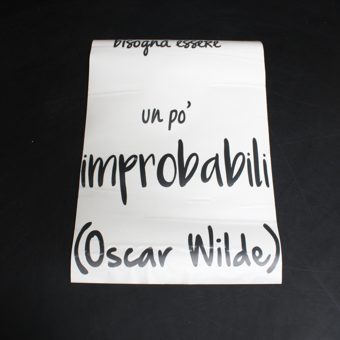 Nálepka na zeď Decoramo Improbabili_Nero