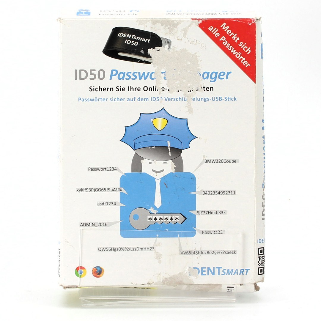 Čtečka a paměť hesel IDENTsmart ID50