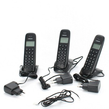 Domácí telefon Logicom VEGA355T_TRIO_NOIR