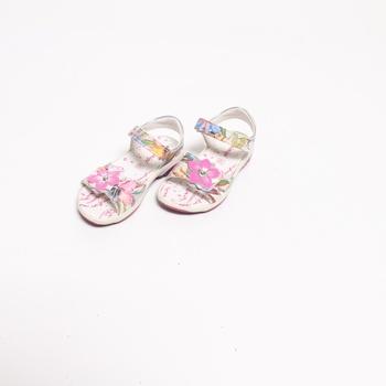 Dětská sálová obuv Primigi květinová
