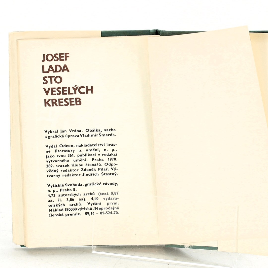 Kniha Josef Lada: Sto veselých kreseb