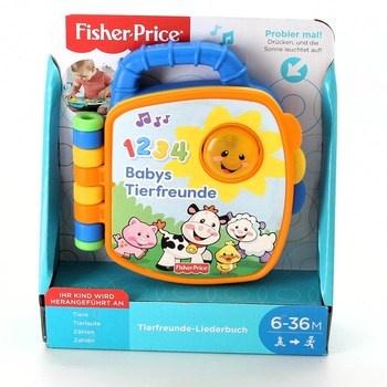 Knížka Fisher-Price Babys Tierfreunde