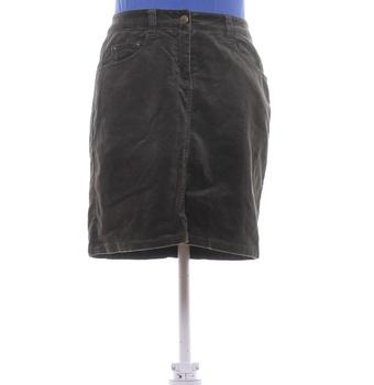 Dámská krátká sukně H&M khaki