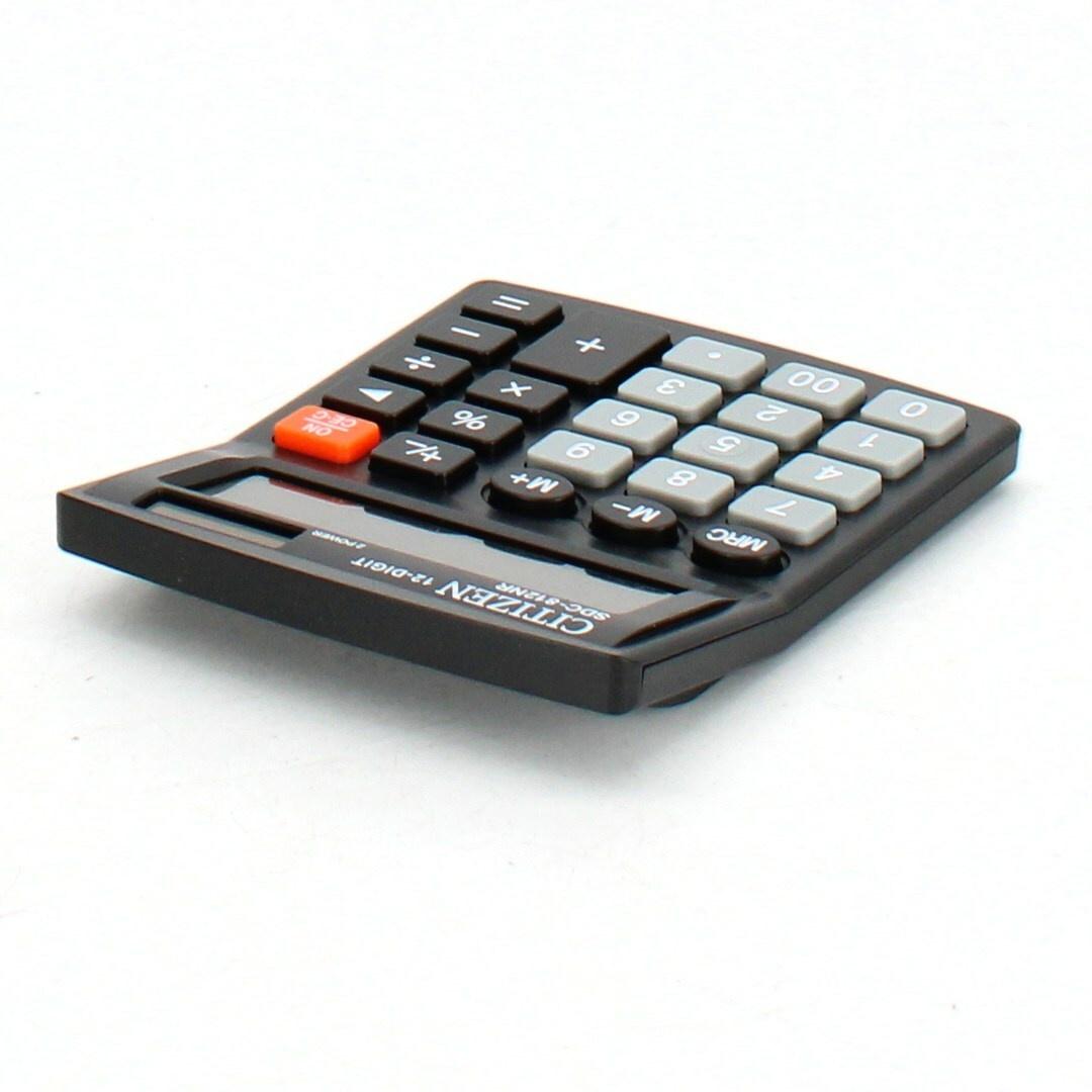 Kapesní kalkulačka Citizen SDC812