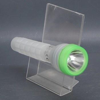 LED svítilna plastová 22 cm zelená