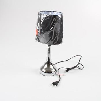 Stolní lampa MiniSun chrom / černé stínidlo