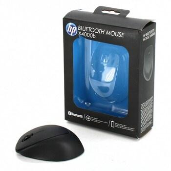 Černá bezdrátová myš HP X4000b