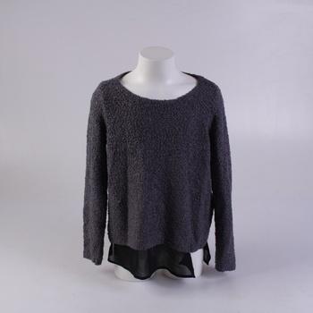 Dívčí svetr s.Oliver šedý