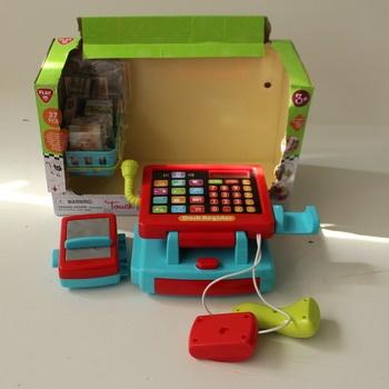 Dětská pokladna Playgo ColorBaby