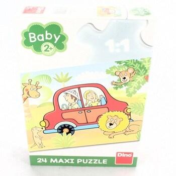 Maxi puzzle DINO Safari 24