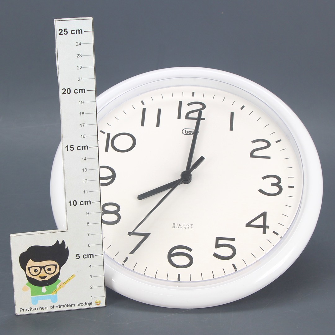 Nástěnné hodiny Trevi OM 3301 bílé