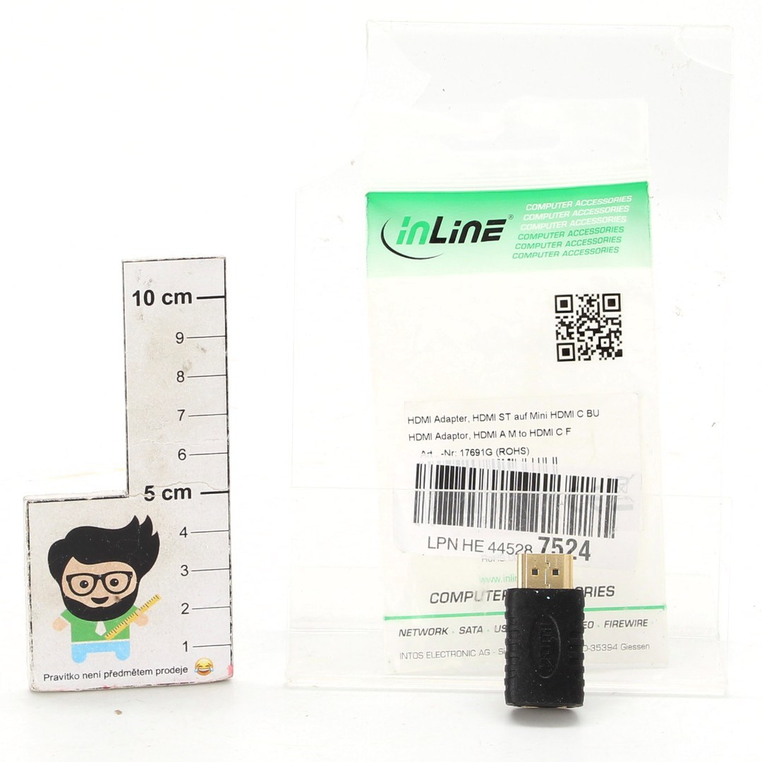 HDMI adaptér InLine 17691G