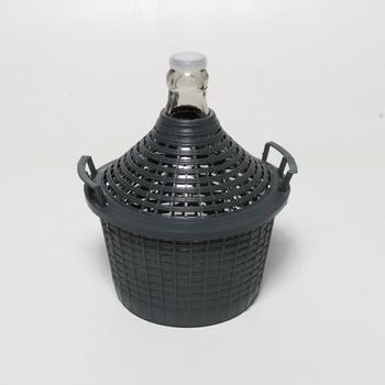 Demižon Home 1900500 opletený v plastu