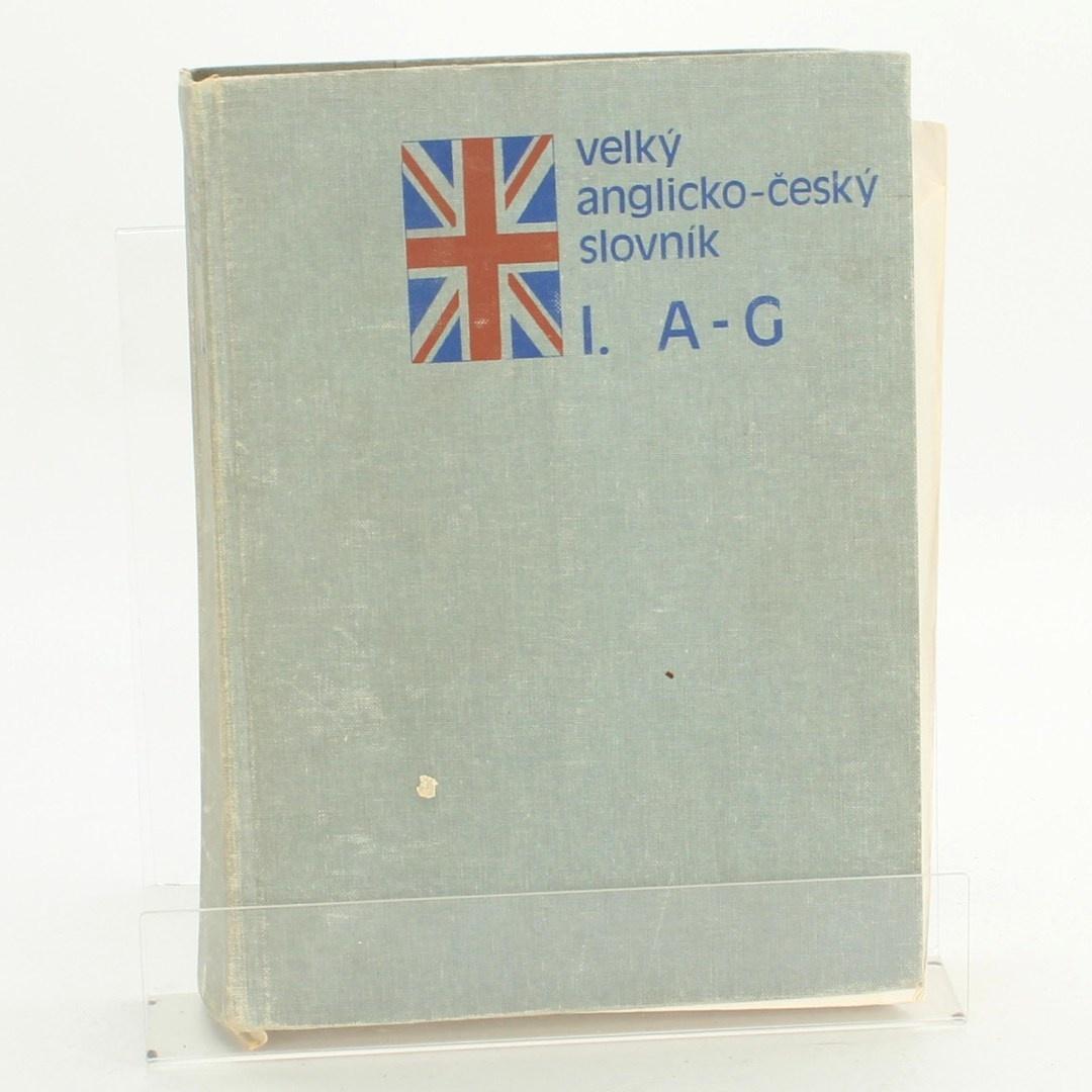 Kniha Velký anglicko-český slovník I. I-G