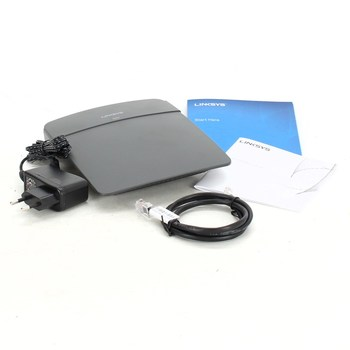 Router Linksys E900 N300 černý