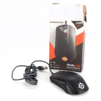 Herní myš SteelSeries Rival 110 černá