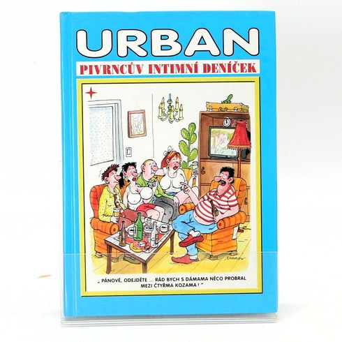 Kniha Petr Urban: Pivrncův intimní deníček
