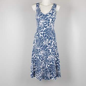 5eb3cb7327f2 Dámské šaty Marks   Spencer bílo modré