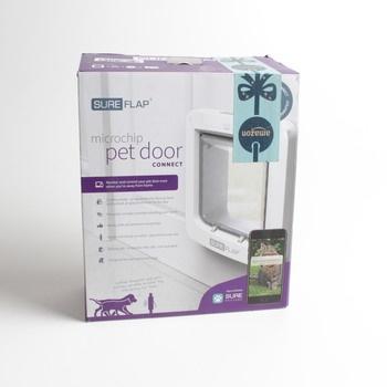 Dvířka pro zvířata Sure Flap Pet Door bílá