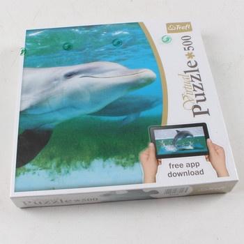 Dětská puzzle 500 Trefl Delfín