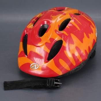 Dětská helma Ultima červenooranžová