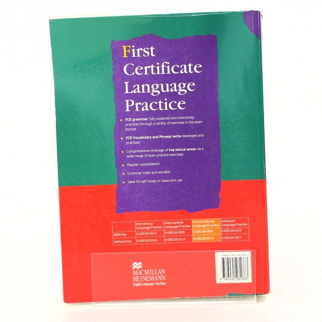 Učebnice First Certificate Language Practice