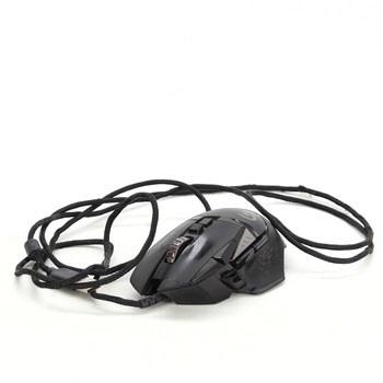 Herní myš Logitech G502 černá s kabelem