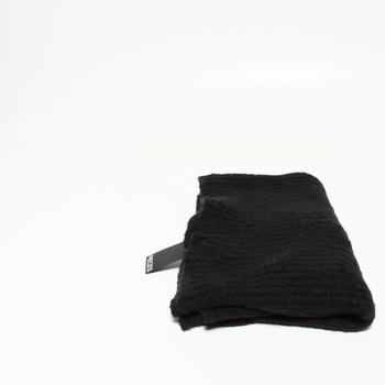 Šála Pieces Scarf Noos Bc, černá