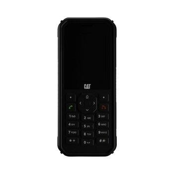 Černý mobilní telefon CAT B40