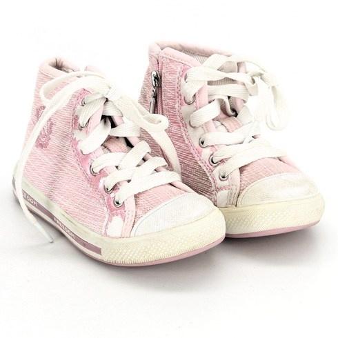 Dívčí kotníkové boty Freedom růžové - bazar  2c26c221b92
