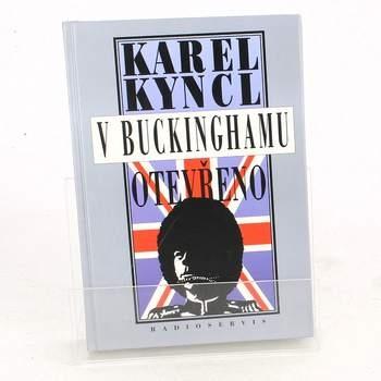 Kniha Karel Kyncl: V Buckinghamu otevřeno