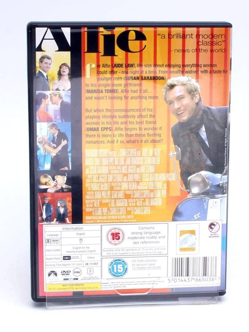 DVD Jude law Alfie Paramount