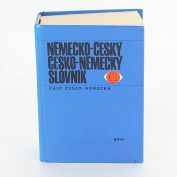 Slovník německo - česká část