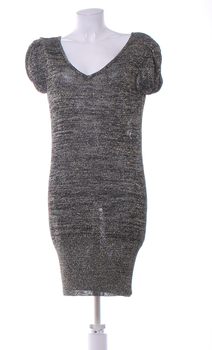 Dámské šaty Orsay černozlaté