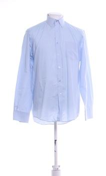 Pánská košile s dlouhým rukávem F&F modrá