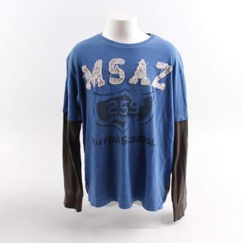 82942ef36f7 Dětské tričko ZARA Kids modré s potiskem