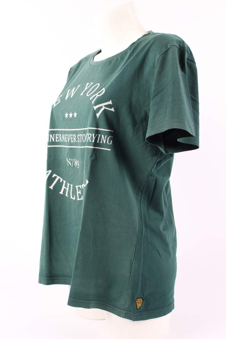 Dámské tričko Kenvelo odstín zelené