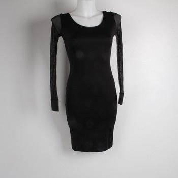 f97ded920e45 Dámské šaty černé síťované