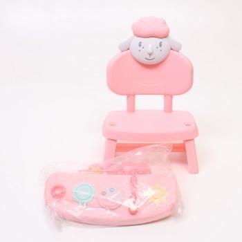 Doplňky Baby Annabell Zapf creation židlička