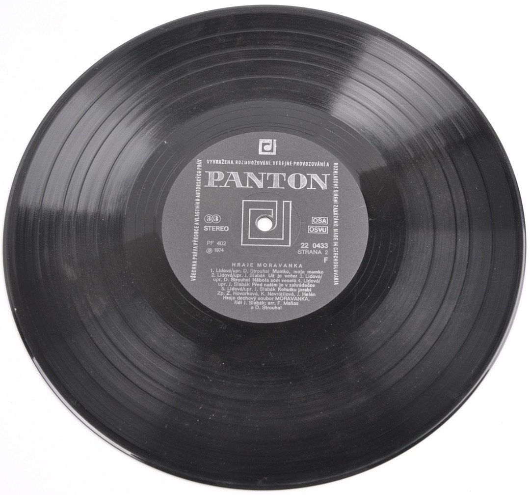 Gramofonová deska Panton Moravanka