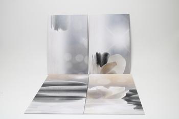 Sada 4 abstraktních obrazů