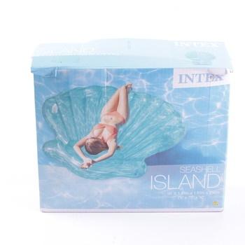 Nafukovací lehátko Intex Island Shell